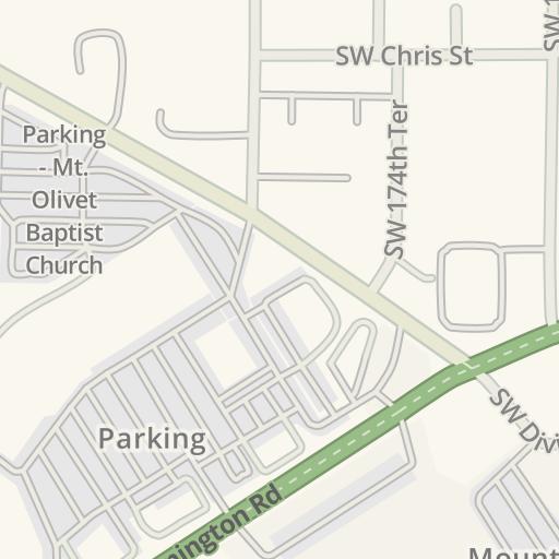 Olivet Campus Map.Waze Livemap Driving Directions To Mt Olivet Baptist Church West
