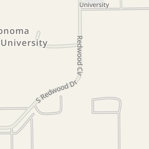Waze Livemap - Driving Directions to Sonoma State University ...