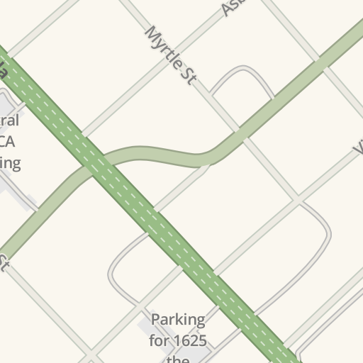 Waze Livemap Driving Directions To Central Nursery School San Jose United States