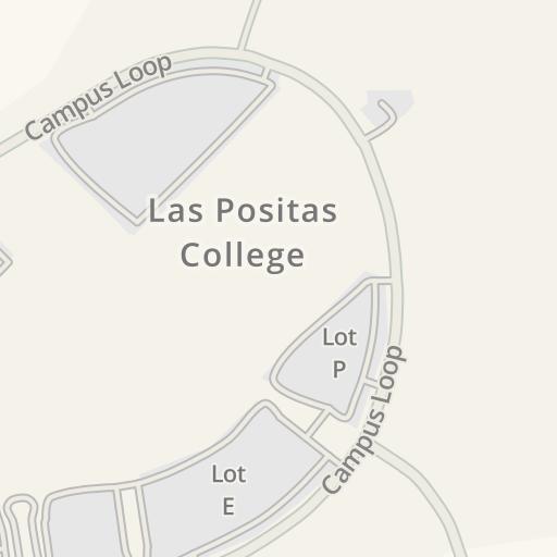 Waze Livemap Driving Directions To Las Positas College Building