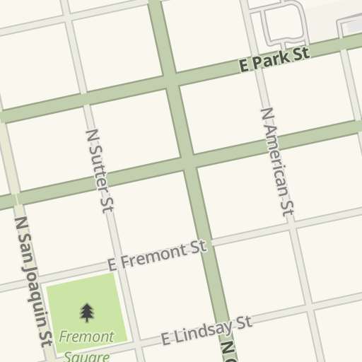 Waze Livemap Driving Directions To San Joaquin Mental Health