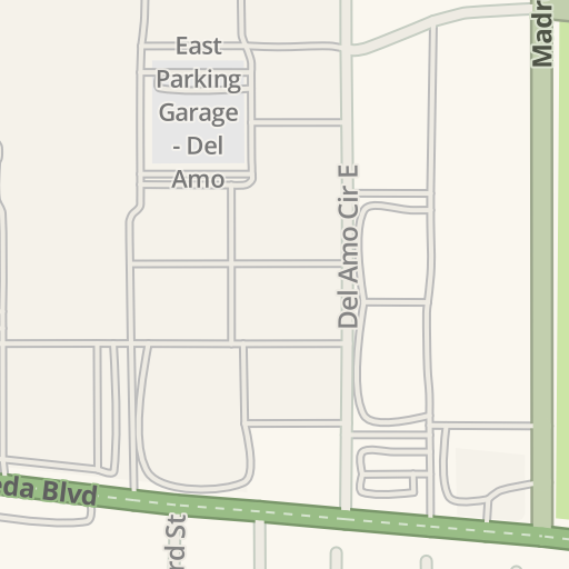 Waze Livemap - Driving Directions to Del Amo Fashion Center ...