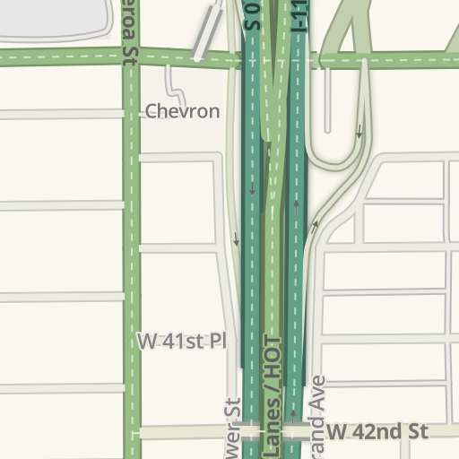 Waze Livemap - Driving Directions to California Science Center, Los on