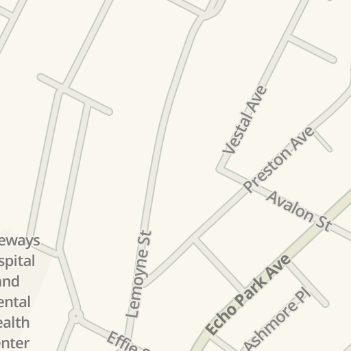Waze Livemap Como Llegar A Gateways Hospital And Mental Health