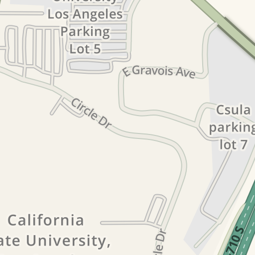 Cal State La Map on
