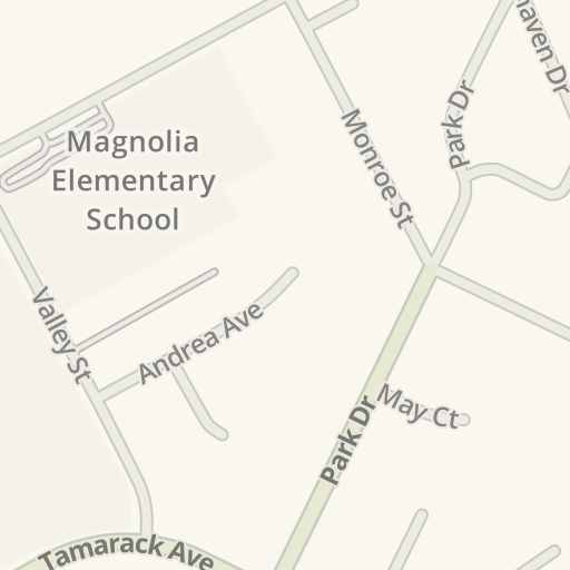 Waze Livemap - Driving Directions to Valley Middle School