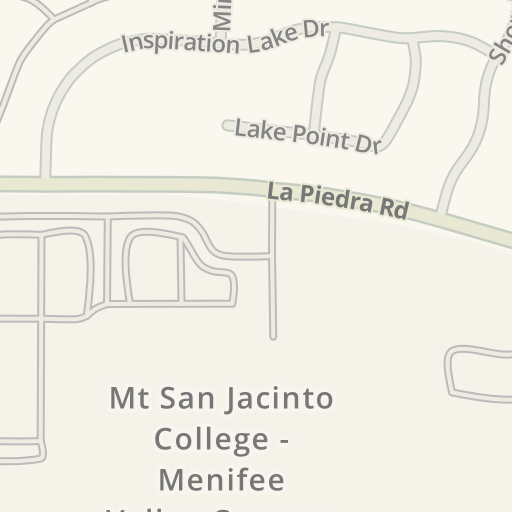 Waze Livemap   Driving Directions to Mt San Jacinto College