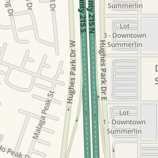 Waze Livemap - Driving Directions to Soma Intimates, Summerlin South on