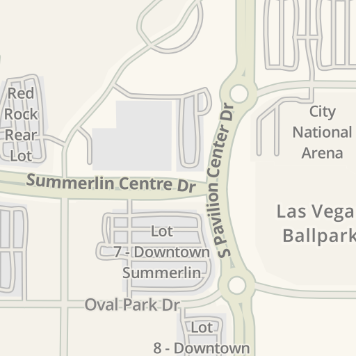 Waze Livemap - Driving Directions to AAA Summerlin, Las Vegas ... on