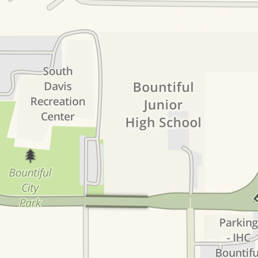 Driving Directions to South Davis Recreation Center