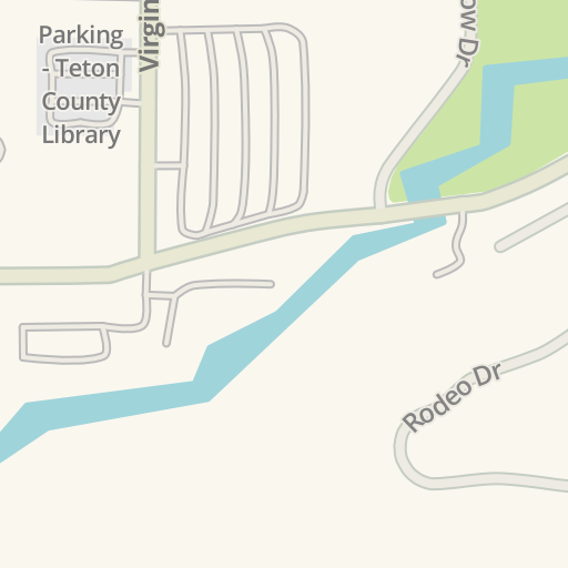 Waze Livemap - Driving Directions to The Virginian RV Park