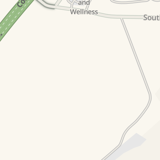 Waze Livemap Driving Directions To Eagle Ranch Apartments