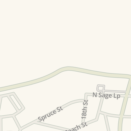 Waze Livemap Driving Directions To Origami Los Alamos United States