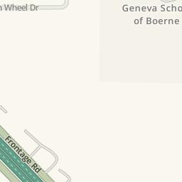 Waze Livemap   Driving Directions To Boerne Dodge Chrysler Jeep Ram, Boerne,  United States