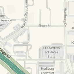 Waze Livemap   Driving Directions To Hudiburg Chevrolet Center, Midwest City,  United States