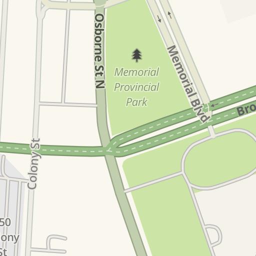 Driving Directions to harveys, Winnipeg, Canada | Waze on san francisco directions, montreal directions, maligne lake directions, snow lake directions,