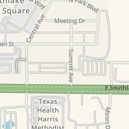 Waze Livemap - Driving Directions to Hilton Dallas - Southlake Town on