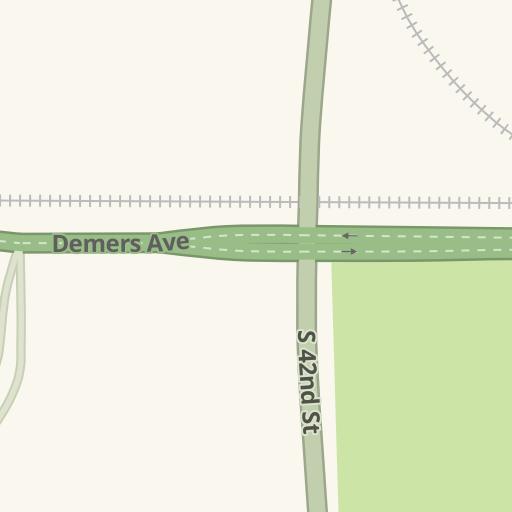waze livemap driving directions to hilton garden inn grand forks united states - Hilton Garden Inn Grand Forks