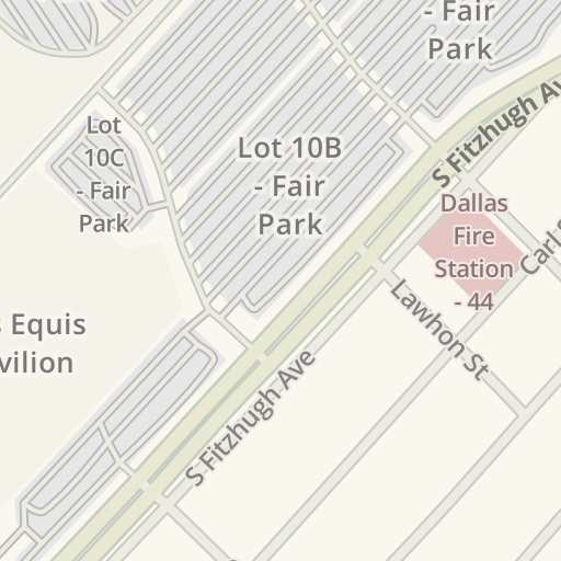 Waze Livemap Driving Directions To Fair Park Gate 5 Dallas