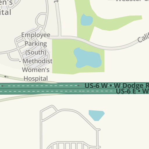 Waze Livemap Driving Directions To Methodist Physicians Clinic 192