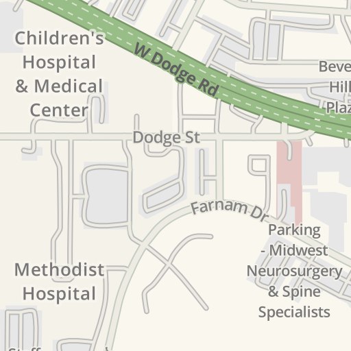 Waze Livemap Driving Directions To Methodist Physicians Clinic