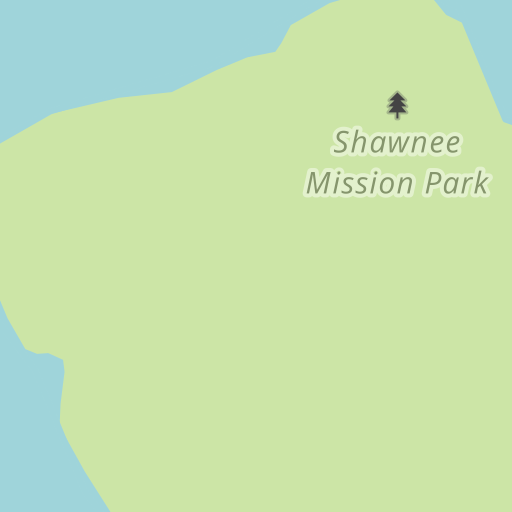 Waze Livemap - Driving Directions to Shawnee Mission Park, Shawnee ...