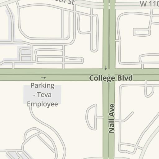 Ku Med Campus Map.Waze Livemap Driving Directions To Ku Med Indian Creek Campus