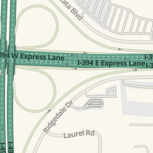 Waze Livemap Driving Directions To Wayzata Children 39 S Clinic