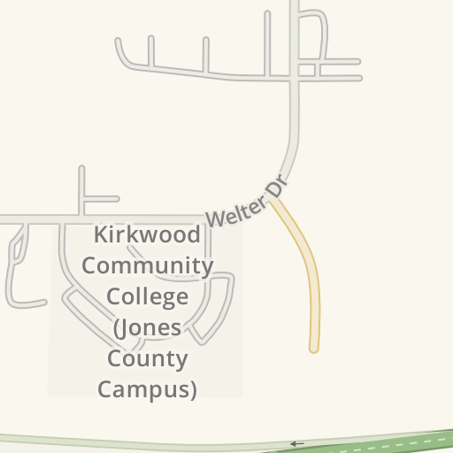 Kirkwood Community College Campus Map.Waze Livemap Driving Directions To Kirkwood Community College