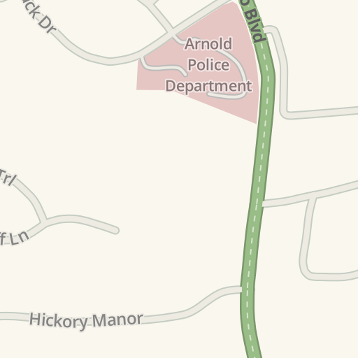 Waze Livemap - Driving Directions to Arnold Police