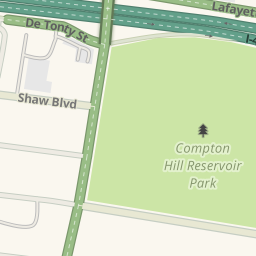 Waze Livemap - Driving Directions to Vista Avenue Parking Garage ...