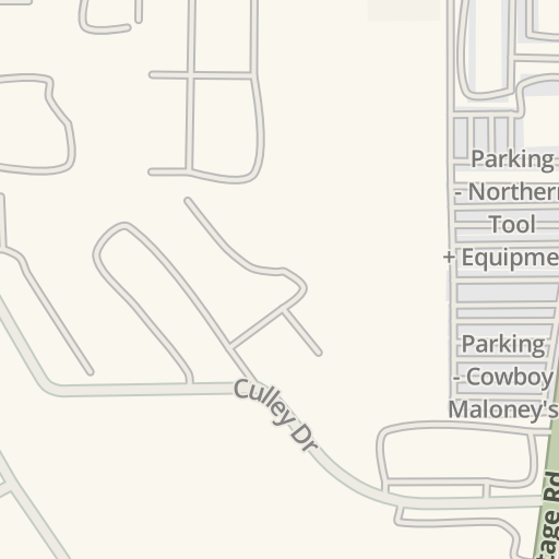 Waze Livemap Driving Directions To Magnolia Federal Credit Union