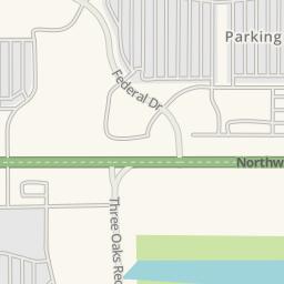Waze Livemap   Driving Directions To Mu0026#39;Lady Nissan, Crystal Lake,  United States
