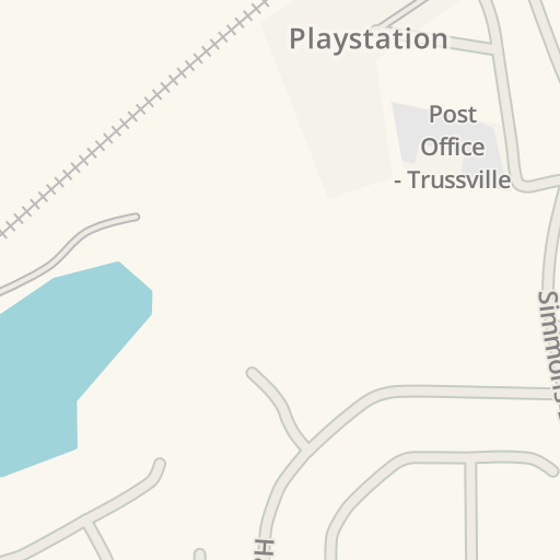 waze livemap driving directions to cvs pharmacy trussville