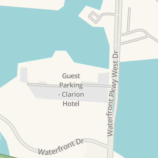 Waze Livemap Driving Directions To Waterfront Pointe Apartments
