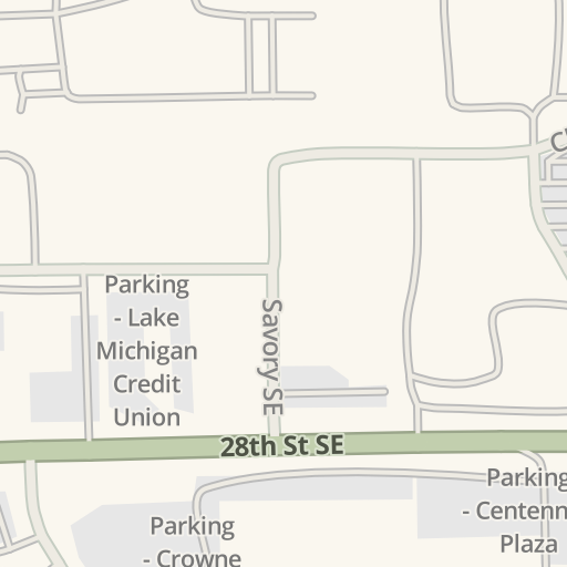 Waze Livemap Driving Directions To Mdot Park And Ride Grand