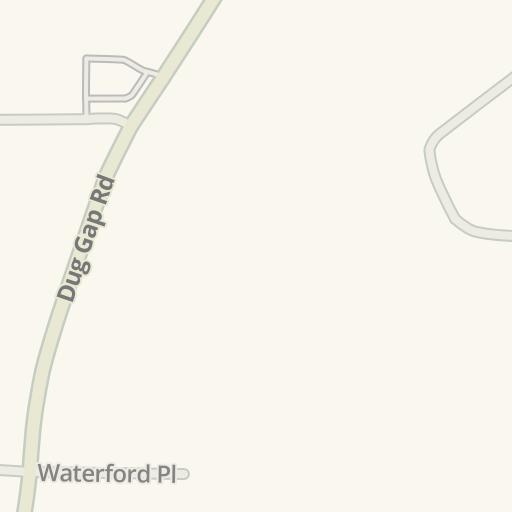 Waze Livemap - Driving Directions to Pet Land, Dalton
