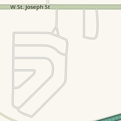 Waze Livemap Driving Directions To Parking Home Depot Lansing