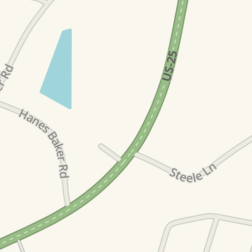 Waze Livemap Driving Directions To Gambrel Toyota Corbin United States