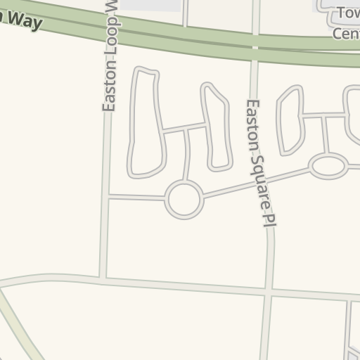 Waze Livemap Driving Directions To Athleta Easton Town Center