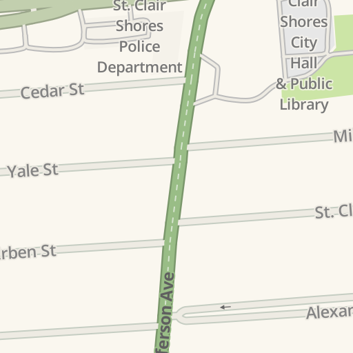 Waze Livemap - Driving Directions to Parking - St  Clair