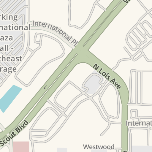 Waze Livemap - Driving Directions to International Plaza & Bay ...