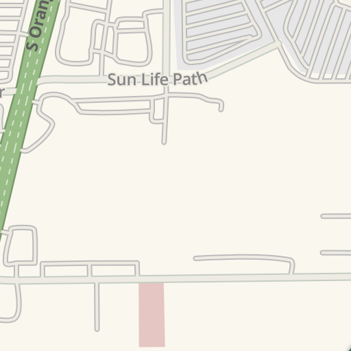 Waze Livemap Driving Directions To Taco Bell Florida Mall