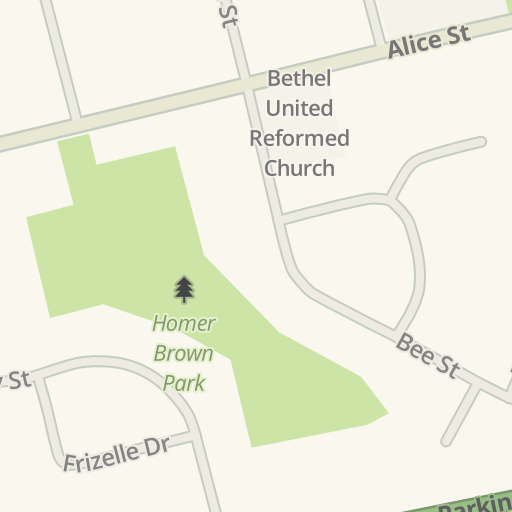 Driving Directions to New Apostolic Church Woodstock, Woodstock