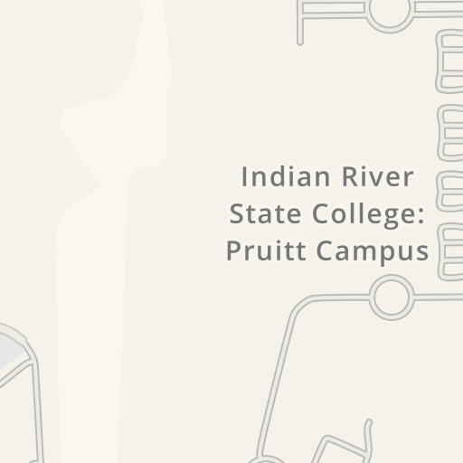 Pruitt Campus Map.Waze Livemap Driving Directions To Indian River State College