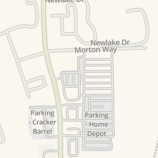 Waze Livemap - Driving Directions to The Home Depot, Boynton Beach ...