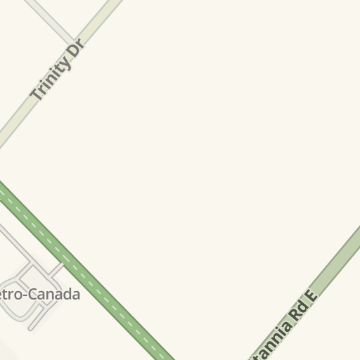 Waze Livemap Driving Directions To Gray Bell Office Furniture Mississauga Canada
