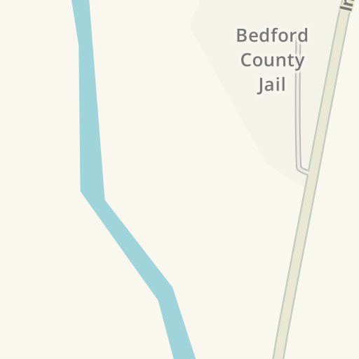 Waze Livemap - Driving Directions to Bedford County Jail, Bedford