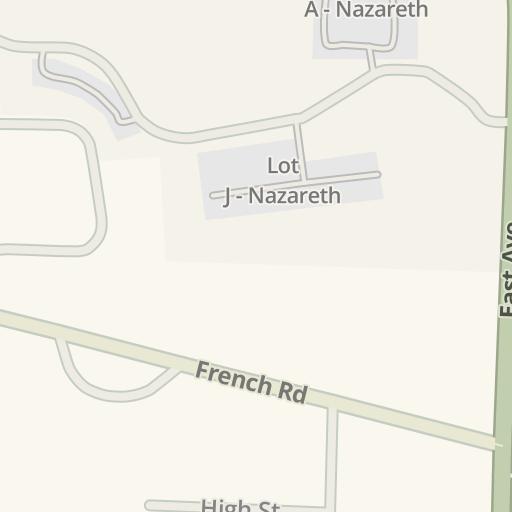 Waze Livemap Driving Directions To Golisano Academic Center