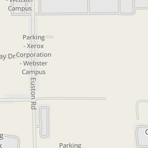 Waze Livemap Driving Directions To Xerox Corporation Webster